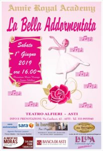"""La Annie Royal Academy al Teatro Alfieri di Asti con """"La Bella Addormentata"""""""