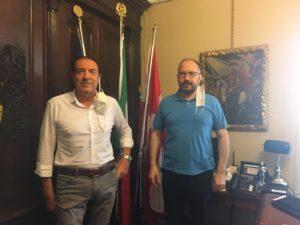 RICEVUTO IN MUNICIPIO IL DIRETTORE DELL'AGENZIA DELLE ENTRATE