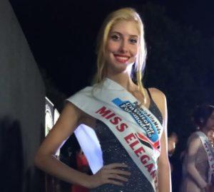 """Valentina Verrua di 15 anni di Asti (Scurzolengo) vince il titolo nazionale """"Miss Eleganza"""""""