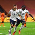 Calcio – Il ct Mancini soddisfatto dell'Italia