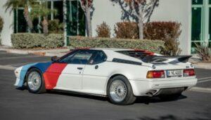 All'asta l'eccezionale BMW M1 di Paul Walker