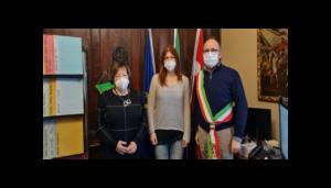"""Premio """"Vincenzo Crocitti International"""" per Giada Dovico di San Marzanotto d'Asti."""